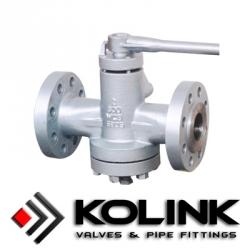 Pressure Balanced Lubricated Plug Valve