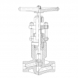 Forged Steel Globe Valve (Pressure Seal Bonnet)